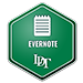 Evernote badge