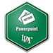 PowerPoint badge