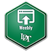 Weebly badge